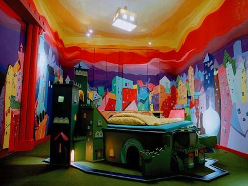 cool bedroom eclectic living home. Black Bedroom Furniture Sets. Home Design Ideas