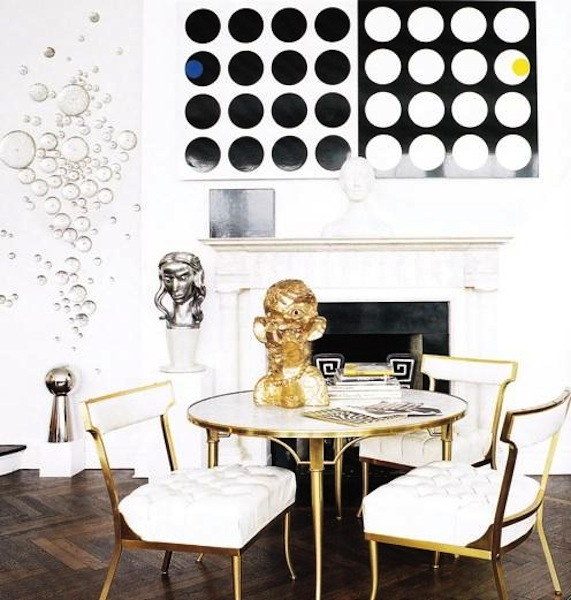 strike gold   eclectic living home