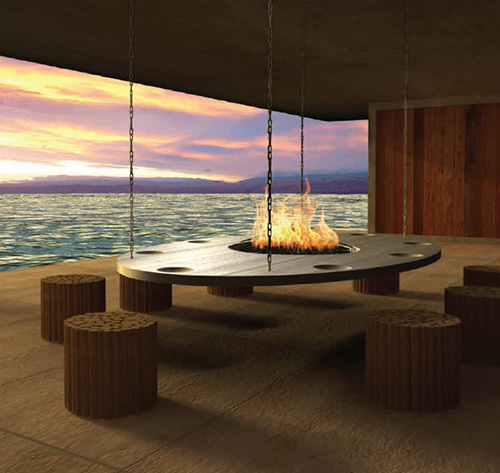 Dramatic dining eclectic living home for Dining room decorating ideas 2012