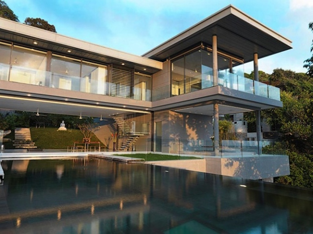 villa amanzi eclectic living home. Black Bedroom Furniture Sets. Home Design Ideas