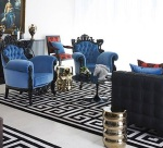 blue-and-black-room