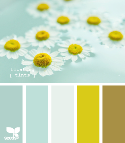 Color Scheme Yellow And Aqua ECLECTIC LIVING HOME