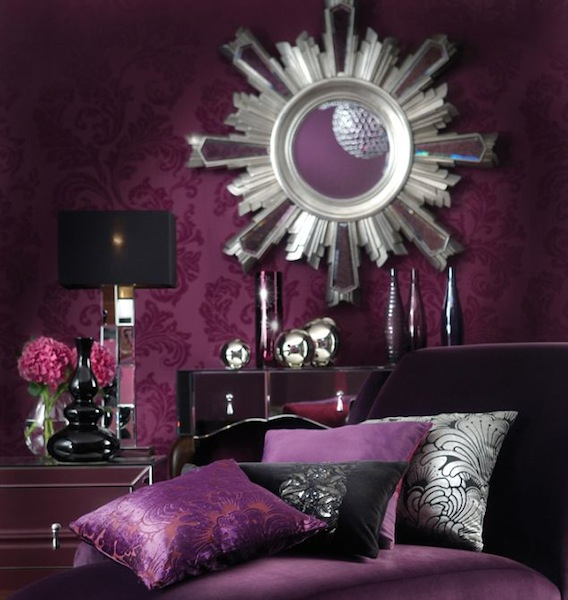 royal purple bedrooms home design inside