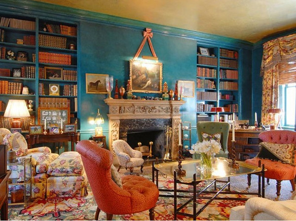 Color Scheme Turquoise And Orange Eclectic Living Home