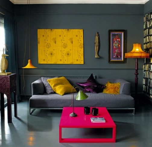 Hot Design Trend: Color Blocking