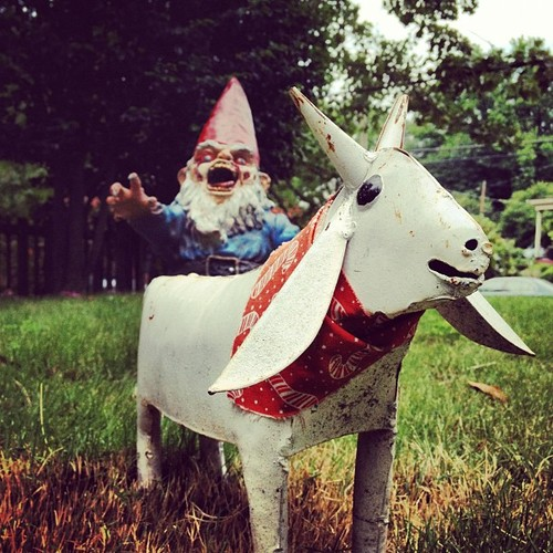 Gnome In Garden: And Now For Something Completely Different…Zombie Garden