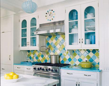 Colorful Kitchen Design Photos