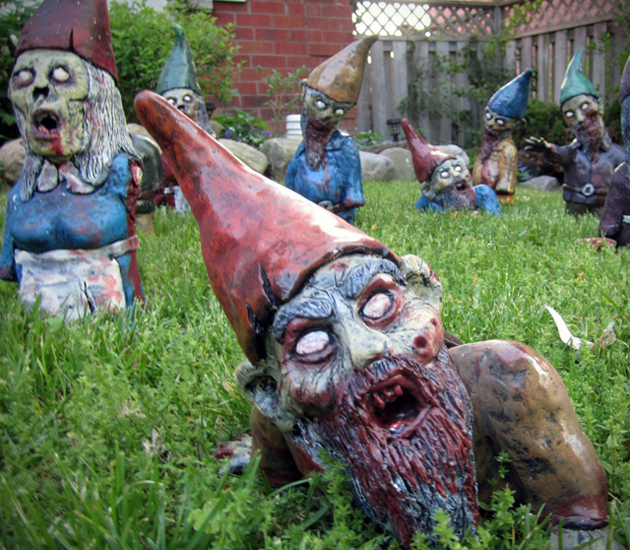 And Now for Something Completely Different…Zombie Garden Gnomes ...