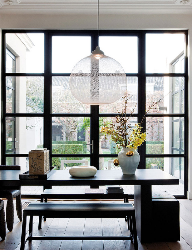 Eclectic Modern Flemish Style ECLECTIC LIVING HOME