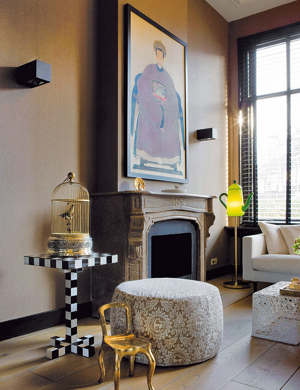 Eclectic modern flemish style eclectic living home for Modern eclectic interiors