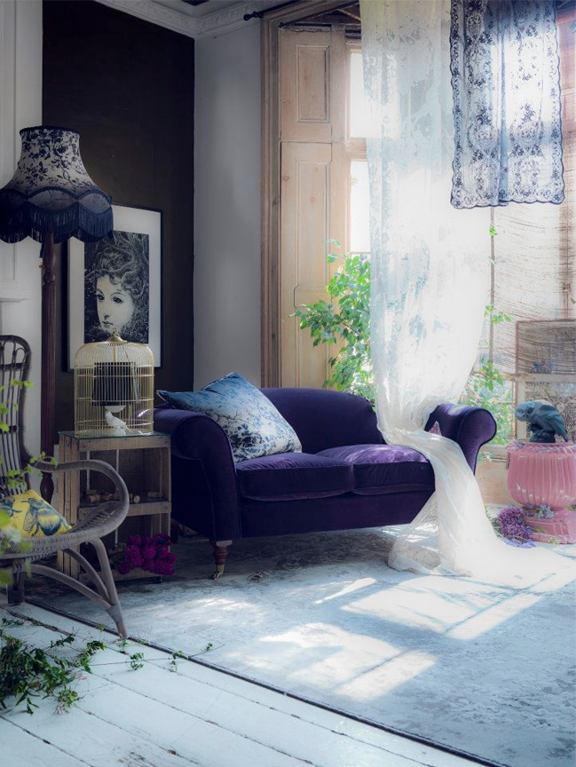 Romancing The Home Eclectic Living Home