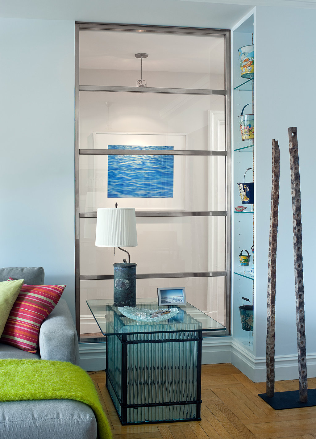 The Sea On The Upper West Side Eclectic Living Home