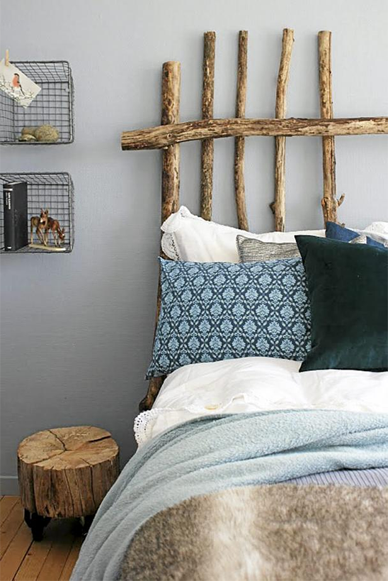 Creative Headboards 4 Eclectic Living Home
