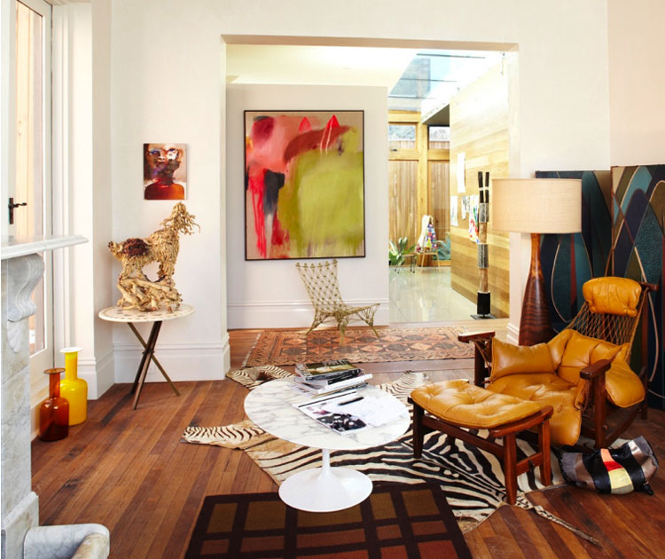 The Style Of Heather Nette King Eclectic Living Home