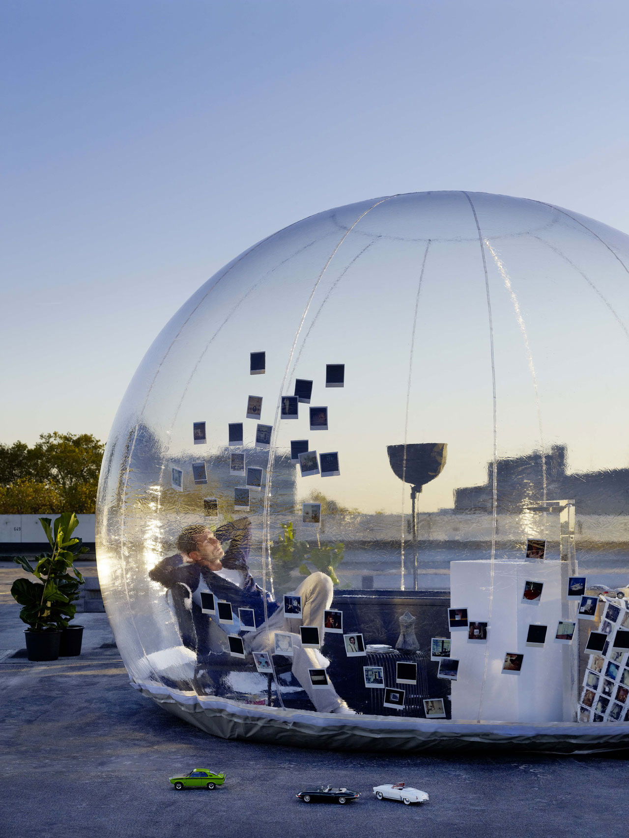 Bathroom bubble eclectic living home for Urban nature