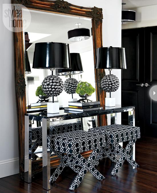 Saskatoon style eclectic living home for Hotel foyer decor
