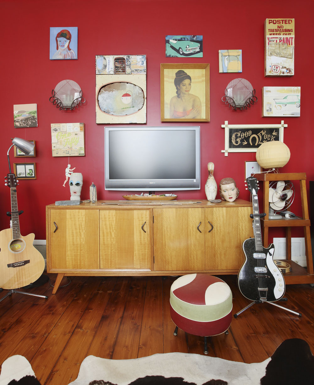 Retro Collective Eclectic Living Home