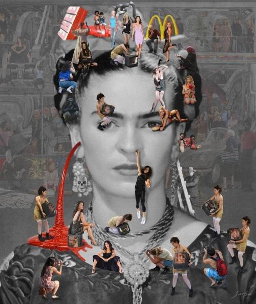 Self-Portrait  Frida Kahlo