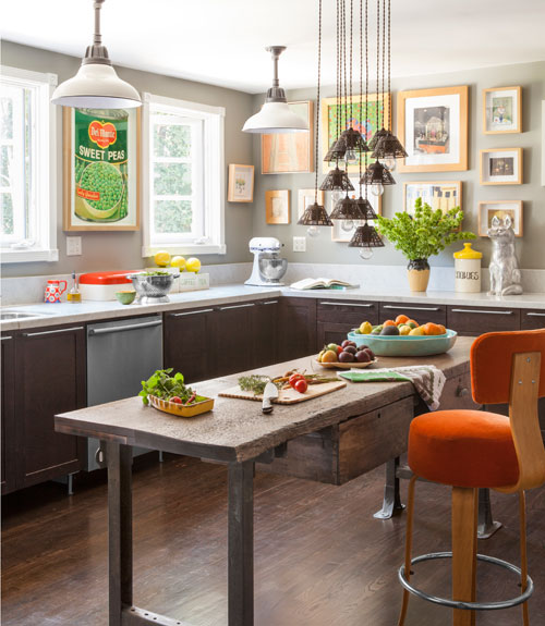 English Kitchen Design: English Cottage Eclectic